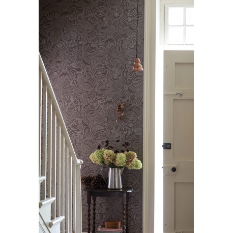 BP 4801 - Dark • Wallpaper • FARROW & BALL • AZURA