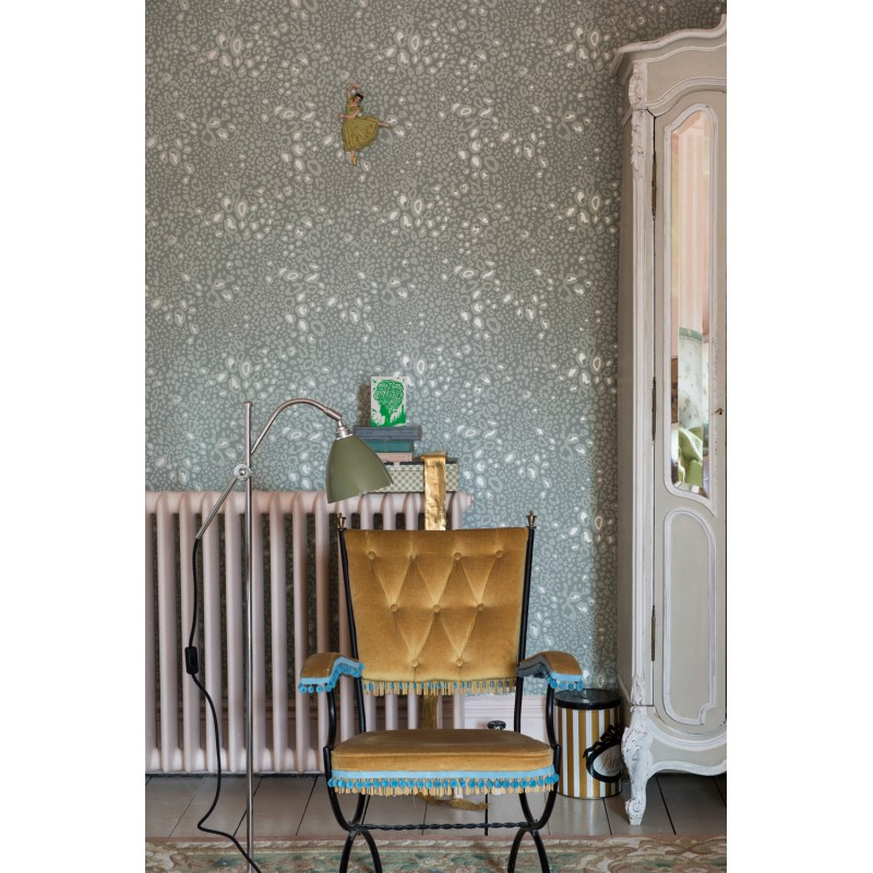 ocelot papier peint farrow ball. Black Bedroom Furniture Sets. Home Design Ideas