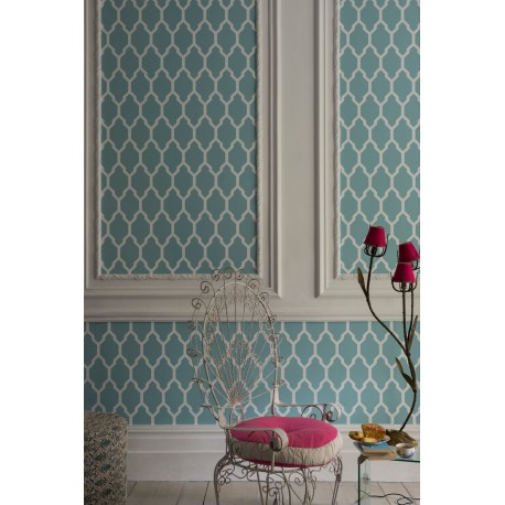 Tessella BP 3605 • Wallpaper • FARROW & BALL • AZURA