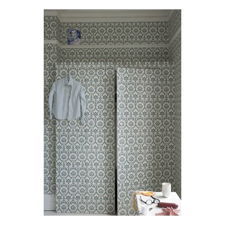 Brocade BP 3209 • Papier Peint • FARROW & BALL • AZURA