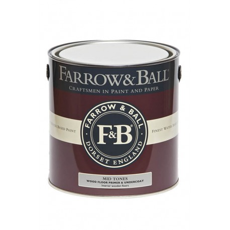 Wood Floor Primer & Undercoat • Paint • FARROW & BALL • AZURA