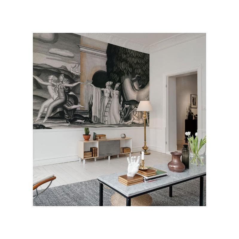 le jardin des d lices wallpaper au fil des couleurs. Black Bedroom Furniture Sets. Home Design Ideas