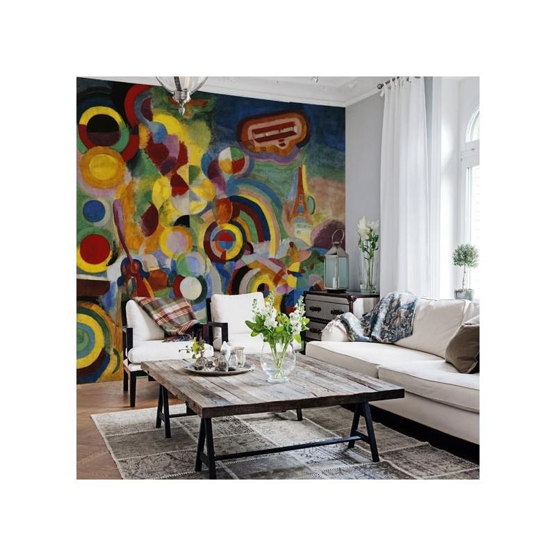 hommage bl riot wallpaper au fil des couleurs. Black Bedroom Furniture Sets. Home Design Ideas