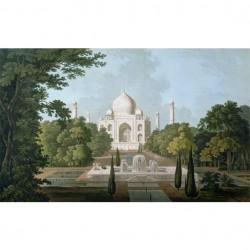 Panneau Taj Mahal • Papier Peint • AU FIL DES COULEURS • AZURA