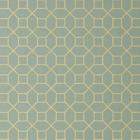 Farris Metallic Gold on Mineral-T11023 • Wallpaper • THIBAUT • AZURA
