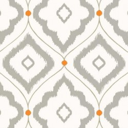 Bungalow Grey-T16055 • Wallpaper • THIBAUT • AZURA
