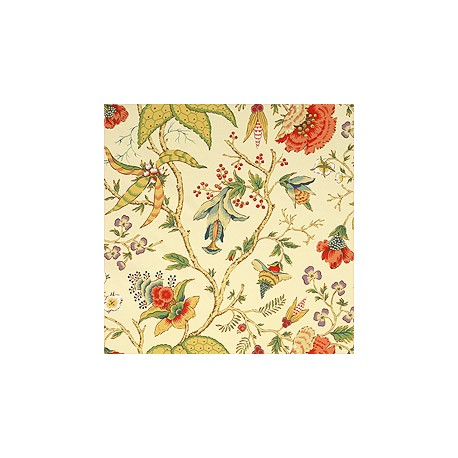 Chinoiserie Floral Cream-T5341 • Wallpaper • THIBAUT • AZURA