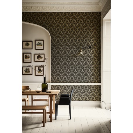 Borough High Street - Stamp • Wallpaper • LITTLE GREENE • AZURA