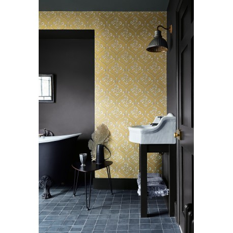 Cranford - Wheat • Wallpaper • LITTLE GREENE • AZURA