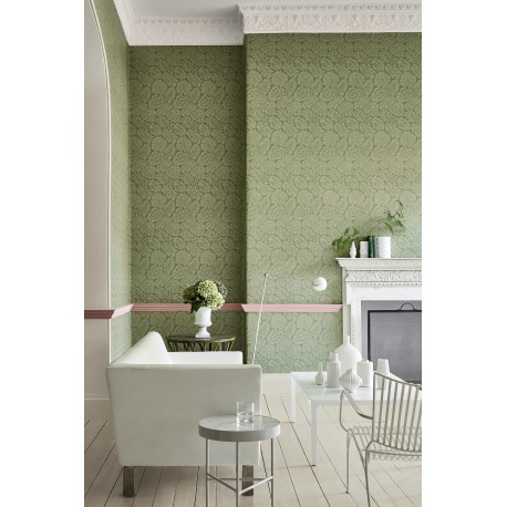Palace Road - Oakes • Papier Peint • LITTLE GREENE • AZURA