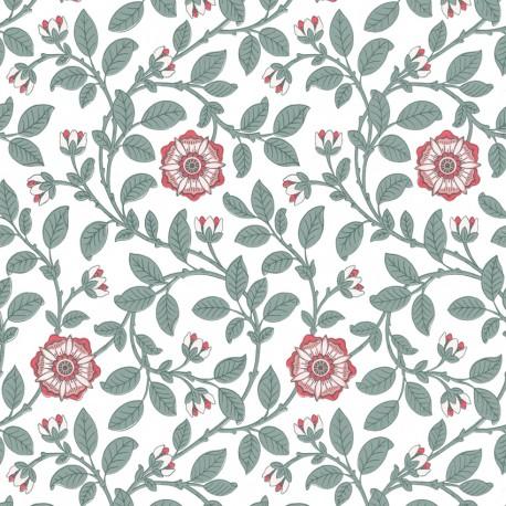 Richmond Green - Dorcas • Wallpaper • LITTLE GREENE • AZURA