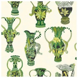 Khulu Vases 109/12056 • Papier Peint • COLE AND SON • AZURA