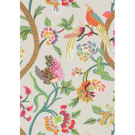Janta Bazaar - T64159 Flax • Wallpaper • THIBAUT • AZURA