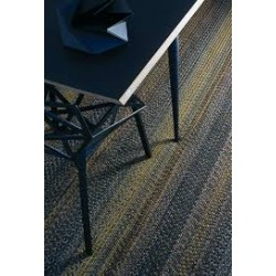 Natte Rug - Brown/Gold • Rug • TOULEMONDE BOCHART • AZURA