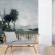 Autumn Lake Panel • Wallpaper • AU FIL DES COULEURS • AZURA
