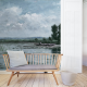 Morning Lake Panel • Wallpaper • AU FIL DES COULEURS • AZURA