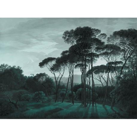 Panneau Pine Trees • Papier Peint • AU FIL DES COULEURS • AZURA