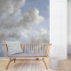 Monsoon Clouds Panel • Wallpaper • AU FIL DES COULEURS • AZURA