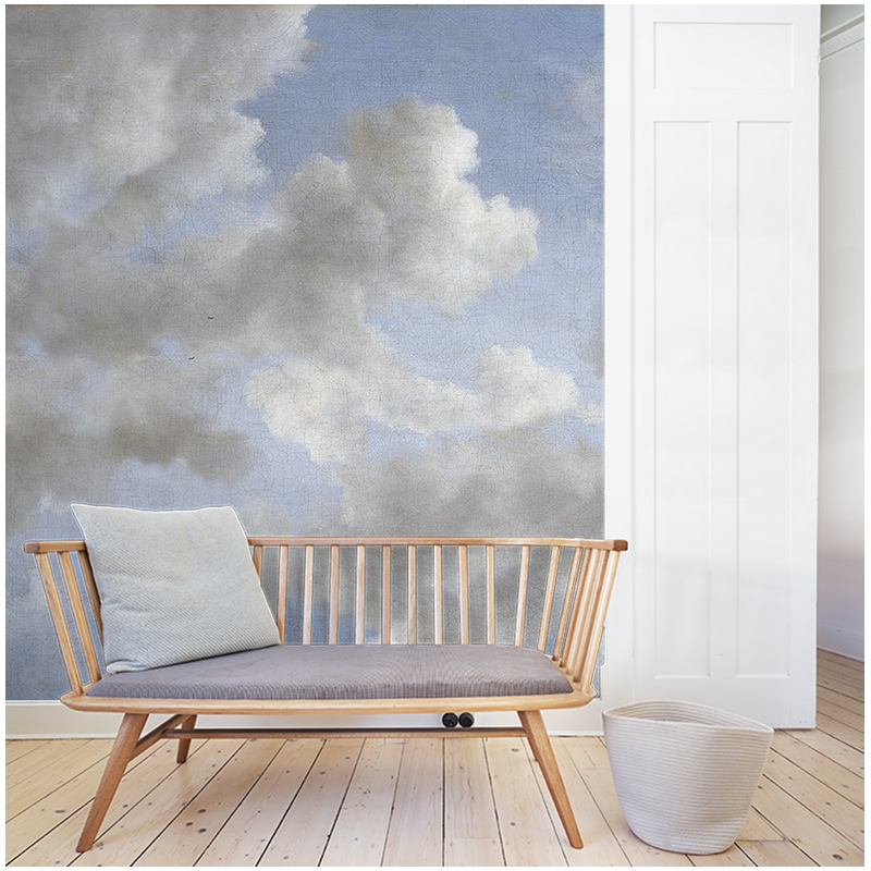 monsoon clouds papier peint au fil des couleurs. Black Bedroom Furniture Sets. Home Design Ideas