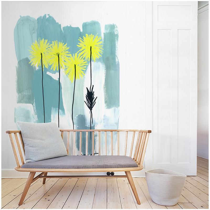 la mer wallpaper au fil des couleurs. Black Bedroom Furniture Sets. Home Design Ideas