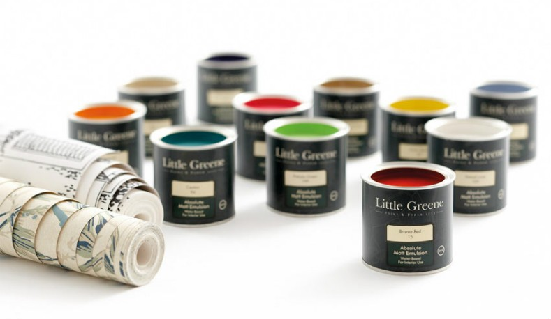 Little Greene - Ecological Paint - AZURA